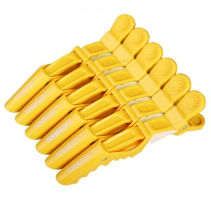 картинка TONI&GUY- Зажимы для волос (желтые) магазин Gumla.ru являющийся официальным дистрибьютором в России