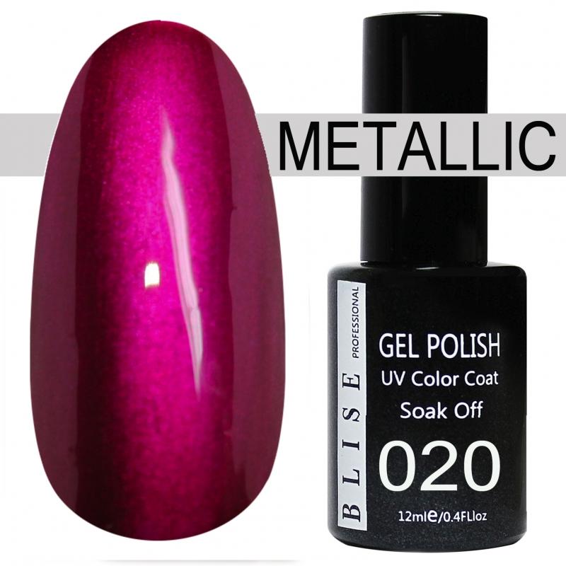 картинка Гель-лак BLISE METALLIС 20 от магазина Gumla.ru