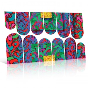 картинка Слайдер дизайн для ногтей 43 магазин Gumla.ru являющийся официальным дистрибьютором в России