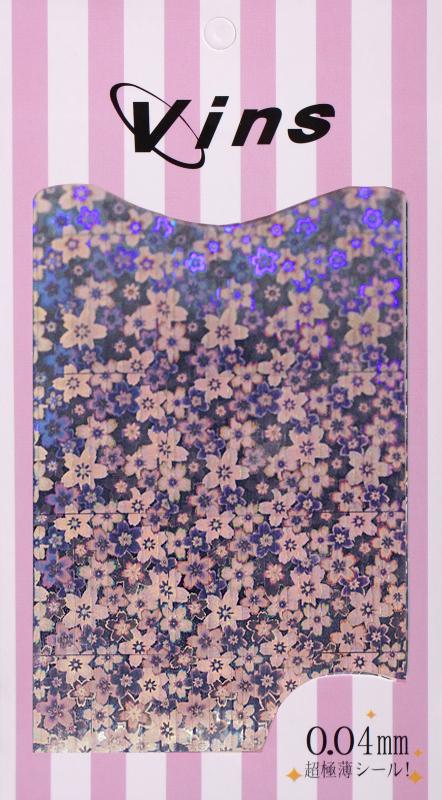 картинка Лента для дизайна (голографик цветы полоски)) от магазина Gumla.ru