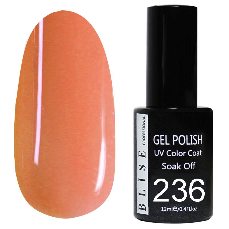 картинка Гель-лак BLISE 236- Приглушенно розовый от магазина Gumla.ru