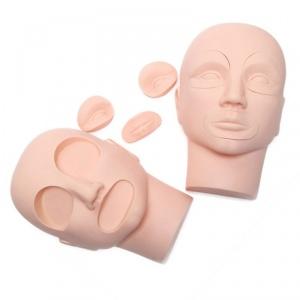картинка Модель лица со сменными частями губ и глаз магазин Gumla.ru являющийся официальным дистрибьютором в России