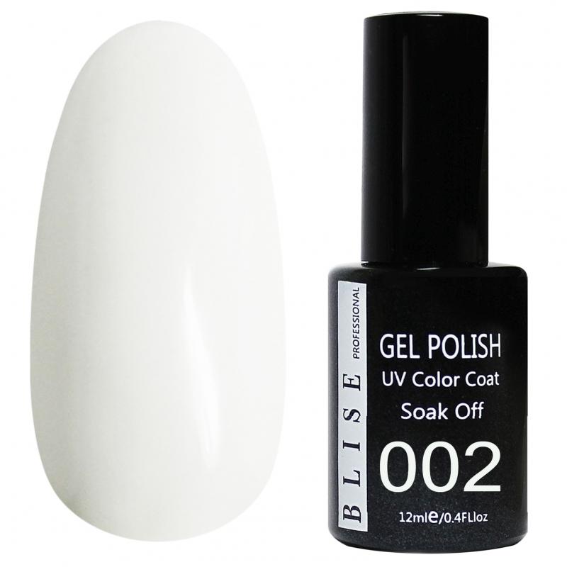 картинка Гель-лак BLISE 002- Белый от магазина Gumla.ru