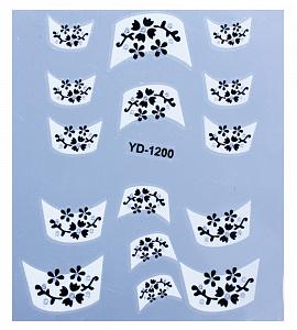 картинка Наклейки на ногти 1200 магазин Gumla.ru являющийся официальным дистрибьютором в России