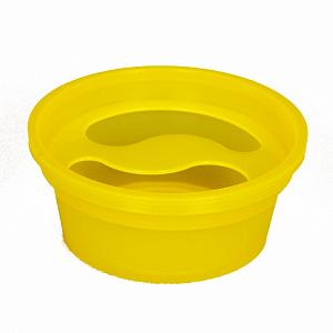 картинка Ванночка для маникюра - желтая магазин Gumla.ru являющийся официальным дистрибьютором в России