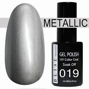 картинка Гель-лак BLISE METALLIС 19 магазин Gumla.ru являющийся официальным дистрибьютором в России