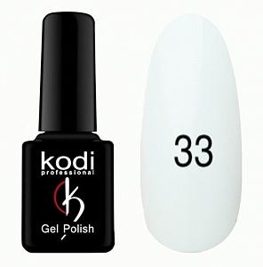 картинка Гель- лак Kodi - №033-Белый 8ml магазин Gumla.ru являющийся официальным дистрибьютором в России