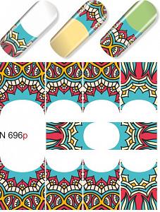 картинка Слайдер дизайн для ногтей 696 магазин Gumla.ru являющийся официальным дистрибьютором в России