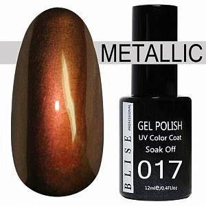 картинка Гель-лак BLISE METALLIС 17 магазин Gumla.ru являющийся официальным дистрибьютором в России