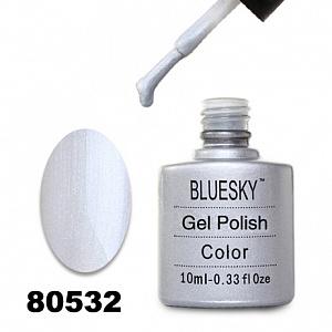 картинка Гель лак  Bluesky 80532-Серебрянный-стальной с микроблестками магазин Gumla.ru являющийся официальным дистрибьютором в России