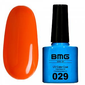 картинка Гель-лак BMG – Ярко-оранжевый магазин Gumla.ru являющийся официальным дистрибьютором в России