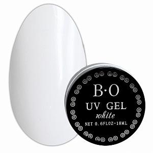 картинка Гель для ногтей B.O (White) 18 гр. магазин Gumla.ru являющийся официальным дистрибьютором в России