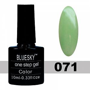 картинка Гель лак One Step Blue Sky (Однофазный) 071 магазин Gumla.ru являющийся официальным дистрибьютором в России