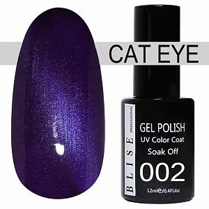 картинка Гель-лак BLISE CAT EYE 02 магазин Gumla.ru являющийся официальным дистрибьютором в России