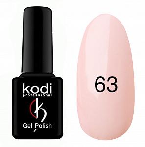 картинка Гель- лак Kodi - №063-Персиково розовый 8ml магазин Gumla.ru являющийся официальным дистрибьютором в России