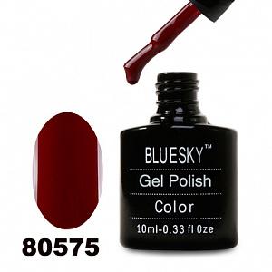 картинка Гель лак  Bluesky 80575-Бордово-вишневый магазин Gumla.ru являющийся официальным дистрибьютором в России