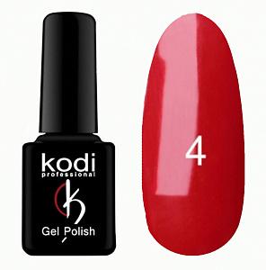 картинка Гель- лак Kodi - №004-Классический красный 8ml магазин Gumla.ru являющийся официальным дистрибьютором в России