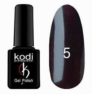 картинка Гель- лак Kodi - №005-Тёмно сливовый 8ml магазин Gumla.ru являющийся официальным дистрибьютором в России