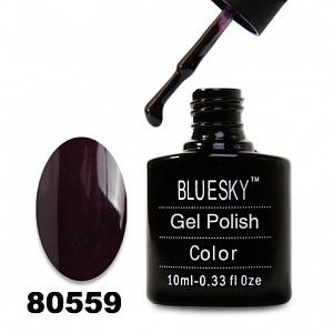 картинка Гель лак  Bluesky 80559-Темный баклажан,плотный магазин Gumla.ru являющийся официальным дистрибьютором в России