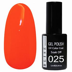 картинка Гель-лак BLISE 025- Ярко-оранжевый магазин Gumla.ru являющийся официальным дистрибьютором в России