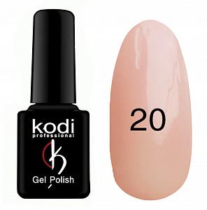 картинка Гель- лак Kodi - №020-Молочно розовый с микроблеском 8ml магазин Gumla.ru являющийся официальным дистрибьютором в России