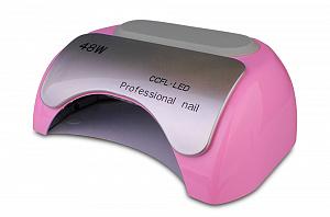 картинка BLISE-Лампа-(No-Screen 48 W LED+ CCFL)-розовая  магазин Gumla.ru являющийся официальным дистрибьютором в России