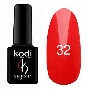 картинка Гель- лак Kodi - №032-Светло красный 8ml магазин Gumla.ru являющийся официальным дистрибьютором в России