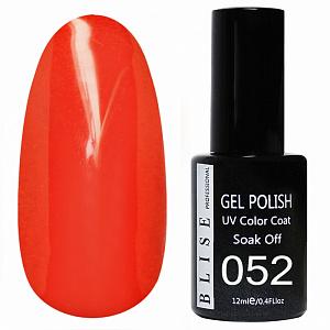 картинка Гель-лак BLISE 052- Красно-оранжевый магазин Gumla.ru являющийся официальным дистрибьютором в России