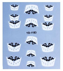 картинка Наклейки на ногти 1183 магазин Gumla.ru являющийся официальным дистрибьютором в России