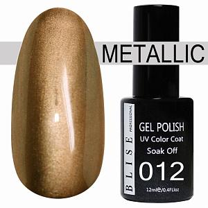 картинка Гель-лак BLISE METALLIС 12 магазин Gumla.ru являющийся официальным дистрибьютором в России