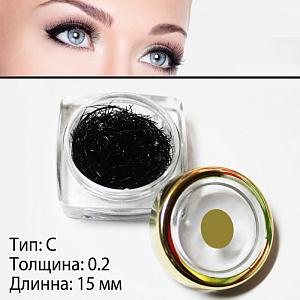картинка Ресницы поштучные (0.2 - 15 mm) магазин Gumla.ru являющийся официальным дистрибьютором в России