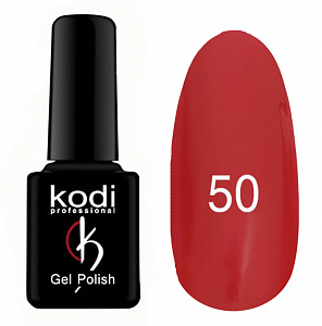картинка Гель- лак Kodi - №050-Светло-красный эмаль 8ml магазин Gumla.ru являющийся официальным дистрибьютором в России