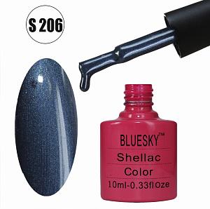 картинка Гель-лак BlueSky (серия S) 206 магазин Gumla.ru являющийся официальным дистрибьютором в России