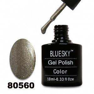 картинка Гель лак  Bluesky 80560-Бронзовый с золотым микроблеском магазин Gumla.ru являющийся официальным дистрибьютором в России