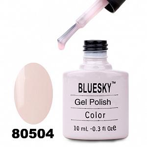 картинка Гель лак  Bluesky 80504-Розовый,полупрозрачный магазин Gumla.ru являющийся официальным дистрибьютором в России