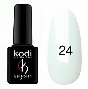 картинка Гель- лак Kodi - №024-Белая эмаль 8ml магазин Gumla.ru являющийся официальным дистрибьютором в России