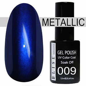 картинка Гель-лак BLISE METALLIС 09 магазин Gumla.ru являющийся официальным дистрибьютором в России
