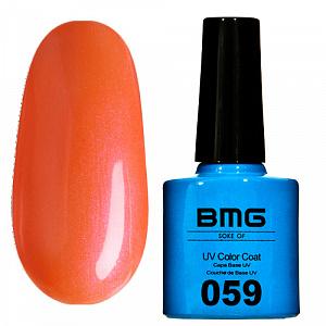 картинка Гель-лак BMG – Светло оранжевый с светло-розовым шимером магазин Gumla.ru являющийся официальным дистрибьютором в России