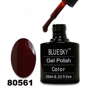 картинка Гель лак  Bluesky 80561-Темно-вишневый магазин Gumla.ru являющийся официальным дистрибьютором в России