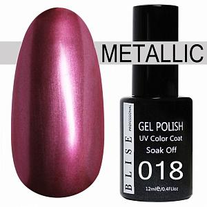картинка Гель-лак BLISE METALLIС 18 магазин Gumla.ru являющийся официальным дистрибьютором в России