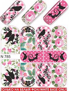 картинка Слайдер дизайн для ногтей 785 магазин Gumla.ru являющийся официальным дистрибьютором в России