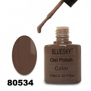 картинка Гель лак  Bluesky 80534-Серо-коричневый магазин Gumla.ru являющийся официальным дистрибьютором в России
