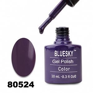 картинка Гель лак  Bluesky 80524-Темно-фиолетовый магазин Gumla.ru являющийся официальным дистрибьютором в России