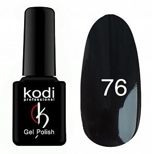 картинка Гель- лак Kodi - №076-Черный 8ml магазин Gumla.ru являющийся официальным дистрибьютором в России