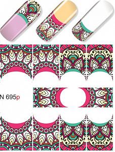 картинка Слайдер дизайн для ногтей 695 магазин Gumla.ru являющийся официальным дистрибьютором в России