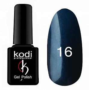 картинка Гель- лак Kodi - №016-Тёмно синий с перламутром 8ml магазин Gumla.ru являющийся официальным дистрибьютором в России