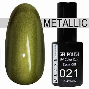 картинка Гель-лак BLISE METALLIС 21 магазин Gumla.ru являющийся официальным дистрибьютором в России