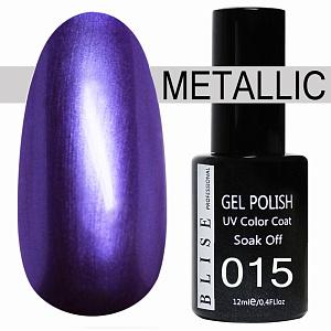картинка Гель-лак BLISE METALLIС 15 магазин Gumla.ru являющийся официальным дистрибьютором в России