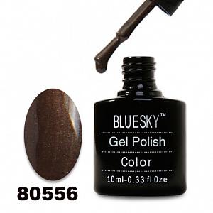 картинка Гель лак  Bluesky 80556-Коричневый с микроблеском магазин Gumla.ru являющийся официальным дистрибьютором в России