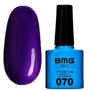 картинка Гель-лак BMG – Темно-фиолетовый с бордовым микроблеском магазин Gumla.ru являющийся официальным дистрибьютором в России